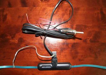 Nowa antena radiowa klejona na szybę Meta System