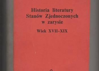 Historia literatury Stanów Zjednoczonych w zarysie Wiek XVII