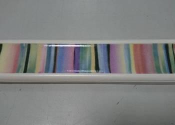 PROMOCJA!! Dekor płytka 4,5x20 listwa dekoracyjna ścienna