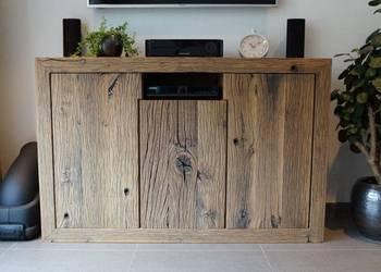 komoda ze starego drewna debowego,stare drewno rozbiorkowe