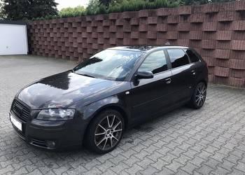 Grafitowe Audi A3 8p 2.0tdi 170km S Line + Quattro! Unikat! na sprzedaż  Jodłówka