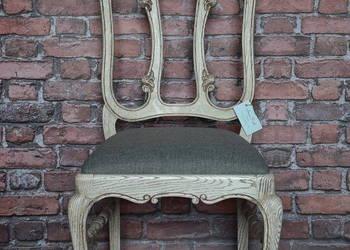 kpl. 4 krzeseł ludwikowskich shabby chic prowansja