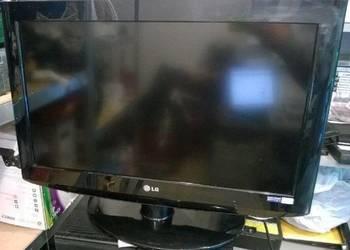 Nowoczesny płaski telewizor LG 28cali z wbudowanym z dvb-t