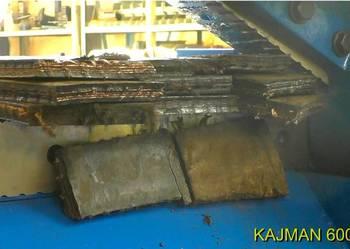 Nożyce do cięcia gumy, taśm górniczych, opon i odpadów gumy