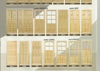 Producent drzwi sosnowe drewniane na pokolenia najmocniejsze