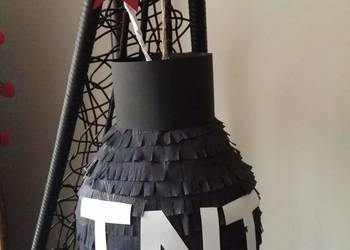 Piniata xl pinata piniaty tnt minecraft bomba