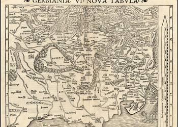 POLSKA XVI w.  reprint map  40x30 cm