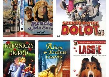 Kolekcja 5 filmów dla dzieci i młodzieży TANIO