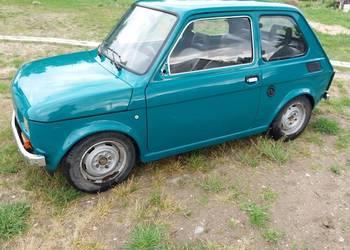 Fiat 126p, maluch, elegant