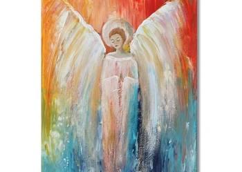 Anioł Eae, obraz ręcznie malowany