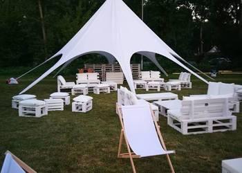 WYNAJEM mebli eventowych / eko design / namioty STAR / W-wa