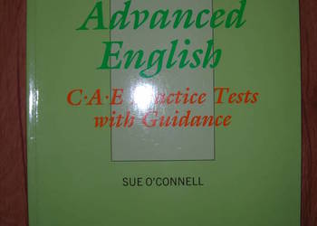 Advanced English CAE practice tests with guidance