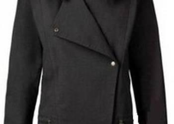 RAINBOW - czarna cienka kurtka katana ramoneska damska M 38