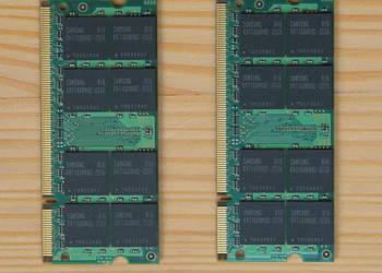 Używany, Pamięć do laptopa 2GB Samsung M470T5663CZ3-CE6 na sprzedaż  Brzozów