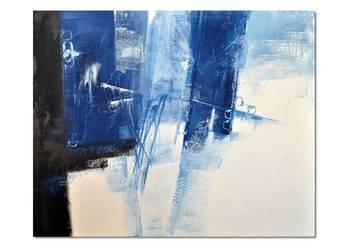 Abstrakcja GBC, nowoczesny obraz ręcznie malowany
