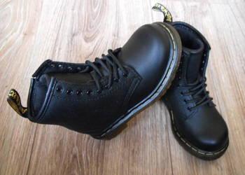 Dr. Martens UK7 EU24 14.8cm buty Skóra* Nowe wysokie dziecko