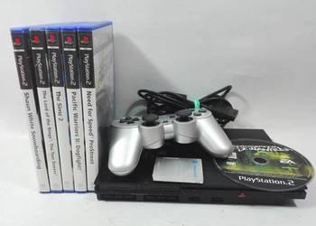 Konsola PS2 +  7 GIER