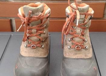 The North Face buty 35 trekkingowe zimowe skórzane CHILKATS