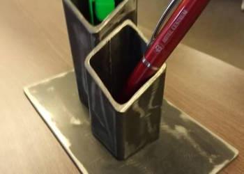 Pojemnik/stojak biurkowy na długopisy  Loft Industrial