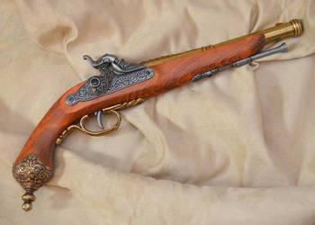 Replika włoski pistolet kapiszonowy XVIIIw. DENIX 1013L