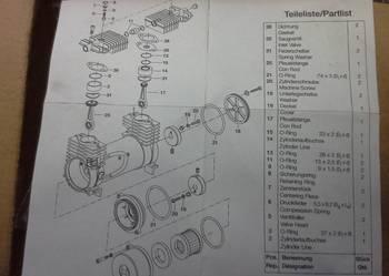 zestaw naprawczy kompresora powietrza elektrycznego vario sprinter unimog