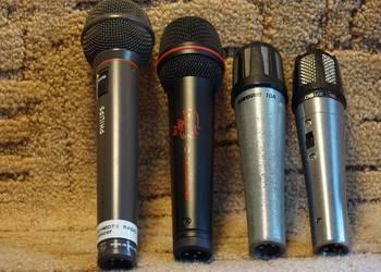 zestaw mikrofonów dynamicznych