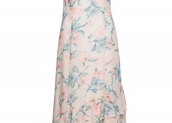 b2439552e0 B.p.c. sukienka szyfon maxi falbany kwiaty 40