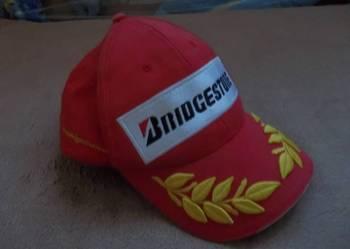 Oryginalna czapka Formuły F1 Bridgestone