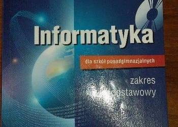 Informatyka dla szkół podgimnazjalnych . Cena 10zł KONTAKT