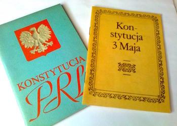 Konstytucje 3-maja i PRL