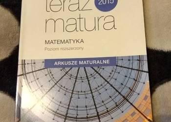 Teraz matura 2015 Matematyka Arkusze maturalne p.rozszerzony