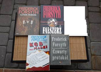 3+ 1 Książki Frederick Forsyth