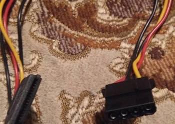 kabel do dysków Serial ATA zasilający