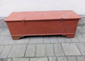 Skrzynia antyczna duża z XIXw. 320