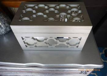 Kufer skrzynia skatułka marokańska koniczyna S