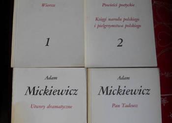 Dzieła poetyckie tom 1,2,3,4 - Adam Mickiewicz
