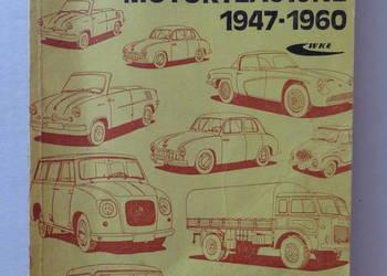 Polskie Konstrukcje Motoryzacyjne - 1947r - 1960r. - Książka