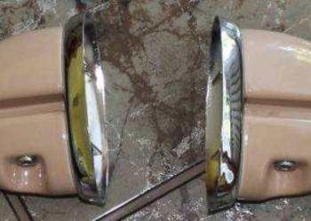 Półka szklana łazienkowa, akcesoria łazienkowe, do łazienki