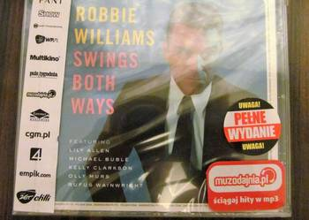 Płyta Robbie Williams Swings Both Ways nowa, zafoliowana