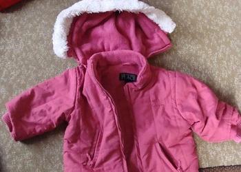 kurtka zimowa dla dziewczynki na 2 latka