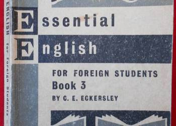 ESSENTIAL ENGLISH FOR FOREIGN STUDENTS BOOK 3