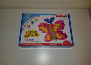 Nowa układanka / puzzle / klocki 3D motyl
