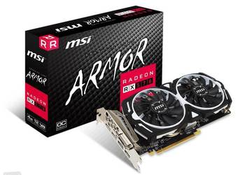 Karta graficzna Msi Radeon RX 570 ARMOR OC 4GB GDDR5