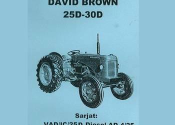 David Brown 25D, 30D ksiązka serwisowa wysyłka !