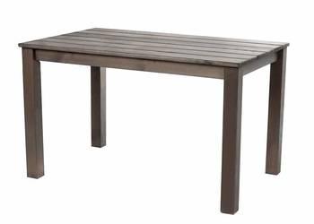 Stół do jadalni w ogrodzie z litego drewna NOWY