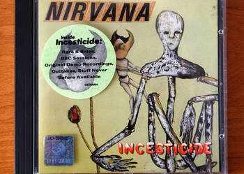 Nirvana - Incesticide - płyta CD