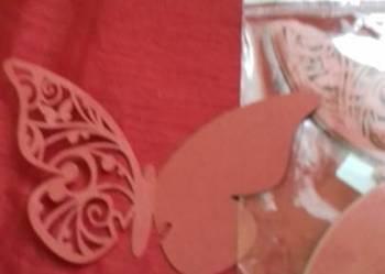 Motylki dekoracyjne do drinków 10 sztuk