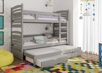 Łóżko piętrowe dla dzieci, 3 osobowe !