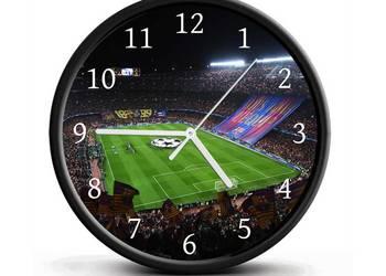 Zegar ścienny FC Barcelona (cichy) idealny na prezent