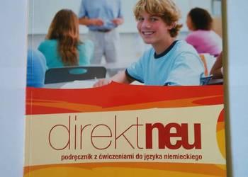 Podręcznik z ćw. do języka niemieckiego Direkt Neu 1B + CD